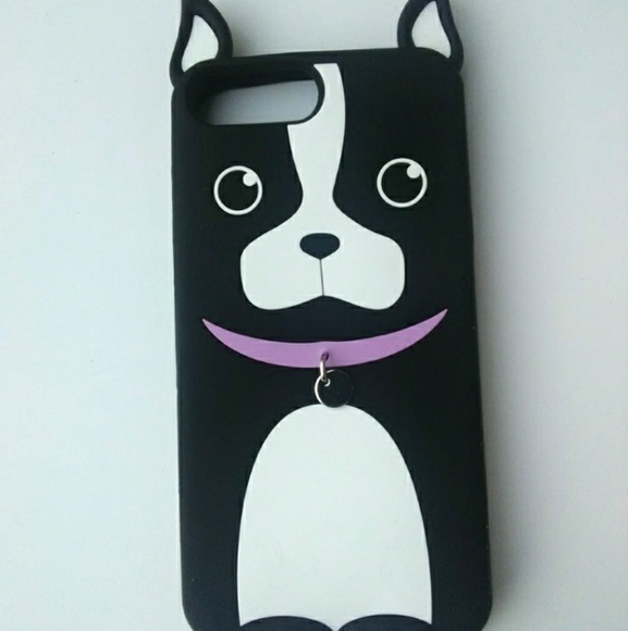 Accessories - Boston Terrier Cellphone Case with Ears and Collar